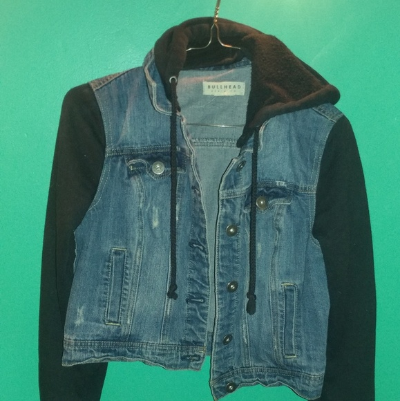 966299a7d0d01 Bullhead Jackets   Blazers - Bullhead Denim Co. Hooded Jacket